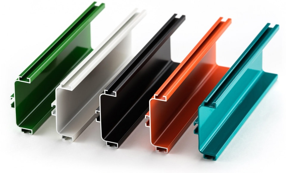 Powder Coated Coloured Channel